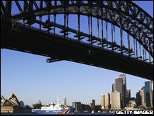 Sydney Harbour Bridge, file image