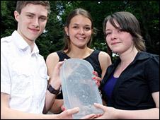 Nairn Academy's winning team (Pic: Ewen Weatherspoon)
