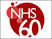 NHS at 60 logo