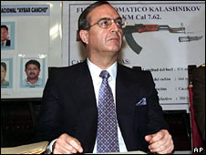 Vladimiro Montesinos, file pic from 2000