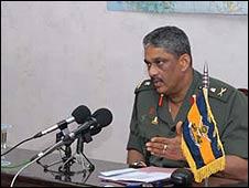 Lt Gen Sarath Fonseka. Pic: Sri Lankan army