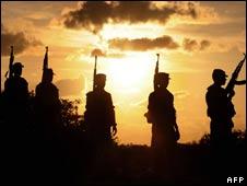 Sri Lankan troops in the Jaffna peninsula