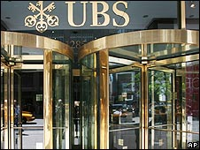 UBS office in New York