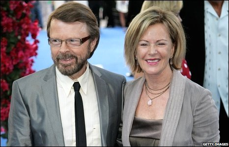 Bjorn Ulvaeus and Frida Reuss, of Abba