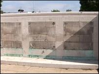 Missing memorial plaques