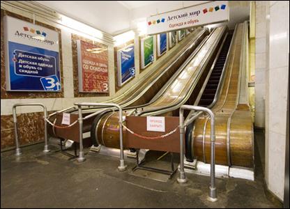 Эскалаторы. Фото: Алексей Юшенков