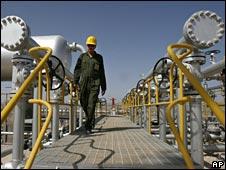 Iranian oil field