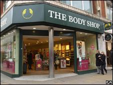 A Body Shop store