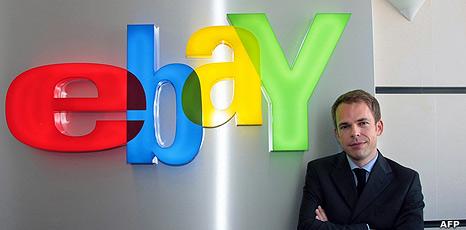 eBay European director Alexandre Menais