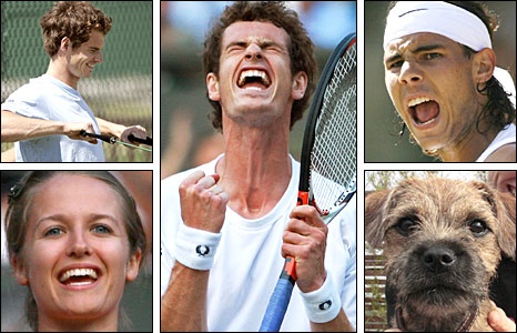 Andy Murray and the people around him