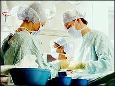 Operating theatre (file pic)