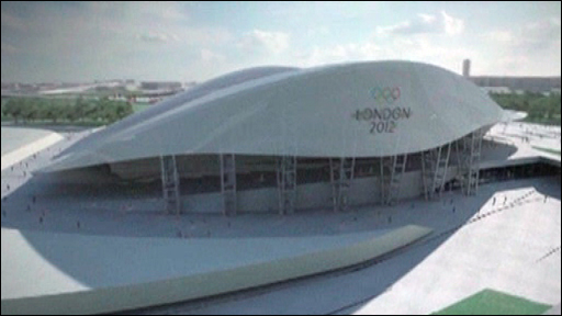 Bbc news uk england olympic sized pool problems for A swimming pool is 50m long and 20m wide