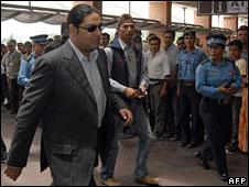 Paras Shah leaving Nepal