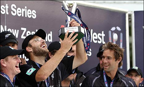 New Zealand won the NatWest Series