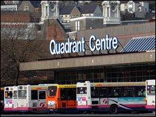 Quadrant bus station
