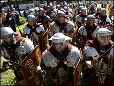 Roman soldiers (AP)