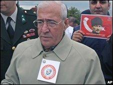 Arrests included retired Gen Sener Eruygur, former commander of Turkey's paramilitary forces (file image)