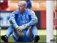 Derek Soutar in action for former club Aberdeen