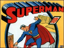 1939 edition of Superman comic