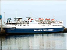 The Swansea Cork Ferry