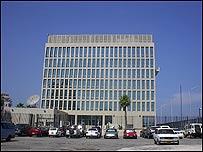 Sede diplomática de EE.UU. en Cuba, Foto: Raquel Pérez