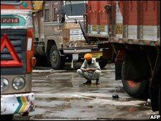 Truck driver in Mumbai