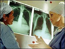 Medics/X-rays (file pic)