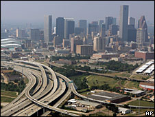 Houston skyline (File picture)
