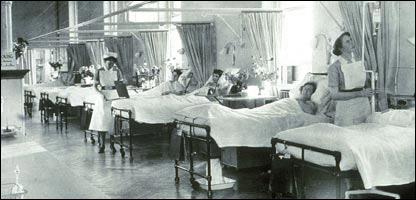 Палата в одной из британских больниц