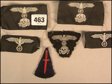 Nazi memorabilia to be auctioned (from Thos. Mawer & Son in Lincoln)