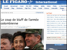 Le Figaro website