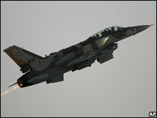 Israeli air force jet