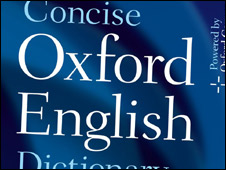 Oxford English Dictionary cover