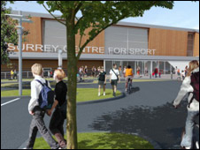 Artist impression of the centre