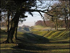 Antonine Wall. Pic by Undiscovered Scotland