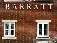 New Barratt development in Crawley, Sussex