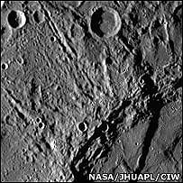Imagen de Mercurio (NASA)