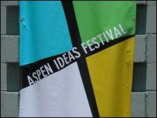 Aspen Ideas Festival banner