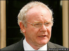 Northern Ireland's Deputy First Minister Martin McGuinness. File photo