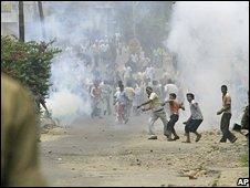 Pro-shrine protests in Jammu