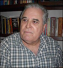 Elizardo Sánchez, presidente de la Comisión de Derechos Humanos de Cuba (Foto: Raquel Pérez)