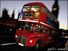 The old Routemaster bus