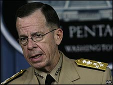Adm Mike Mullen, Chairman of the joint chiefs of staff