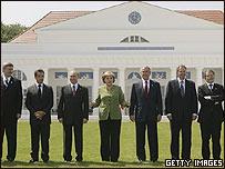 Cumbre del G8 en Heilligendamm, Alemania (junio 2007)