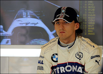 Kubica remains calm