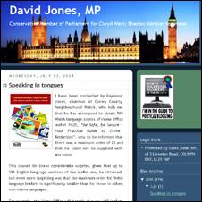 David Jones' blog
