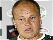 Hibernian manager Mixu Paatelainen