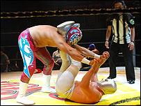Espectáculo de lucha libre