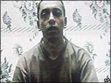 Pablo Emilio Moncayo shown in an undated video wa seized 10 year ago