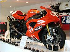 Steve Hislop's motorbike